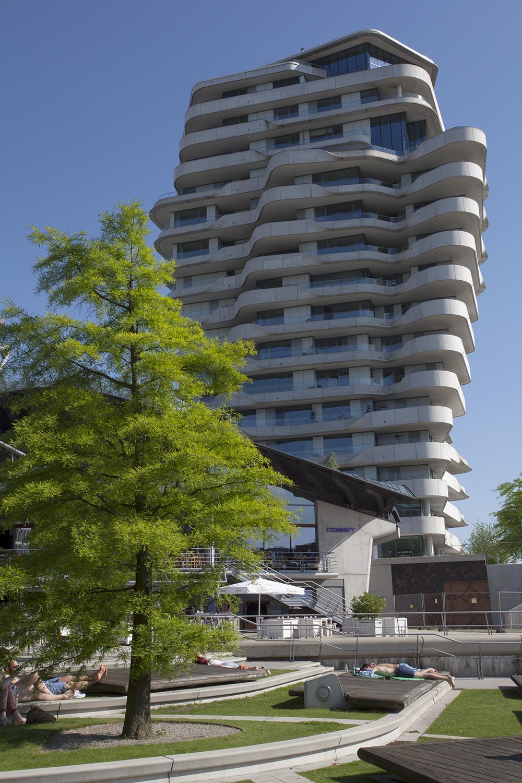 Marco Polo Tower, Hamburg. Architect Behnisch Architekten