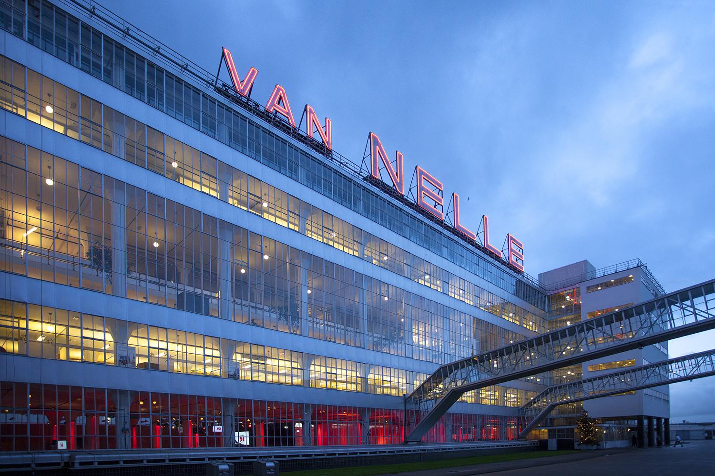 Van Nellefabriek, Rotterdam. Architect Leendert van der Vlugt van Brinkman & Van der Vlugt